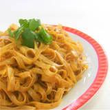 One Perfect Bite: Noodles with Curried Peanut Sauce