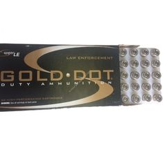 Speer Gold Dot .380ACP 90GR Duty Ammunition - 53606