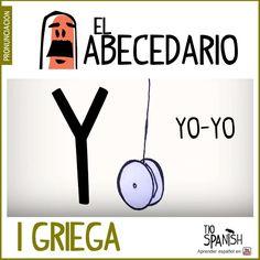 Letra Y (i griega). Aprender el abecedario español, alfabeto. ** Letter Y (i griega). Learning the Spanish alphabet, alphabet.