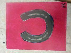 Het hoefijzer van Harm Symbols, Letters, Letter, Lettering, Glyphs, Calligraphy, Icons