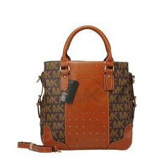 Michael Kors Grayson Monogrammed Crossbody Brown