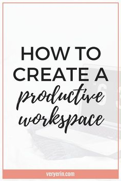 You workspace can make a significant difference in how productive you are. Here are some tips for creating a productive workspace. Business Tips, Online Business, Make Money Online, How To Make Money, Productive Things To Do, Productivity Apps, Financial Success, Time Management Tips, Work Life Balance