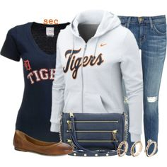 """""""Go Tigers"""" by coombsie24 on Polyvore"""
