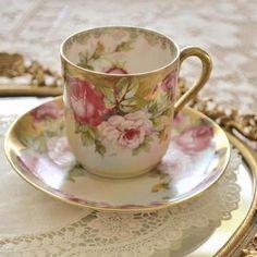 I love vintage china