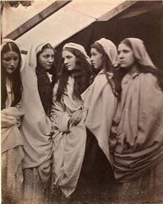 Julia Margaret Cameron, The Five Foolish Virgins, 1864