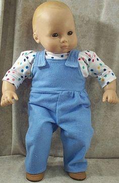 46ce7ca9f AMERICAN GIRL BITTY BABY TWIN BOY JUNGLE SAFARI OUTFIT - OVERALLS ...