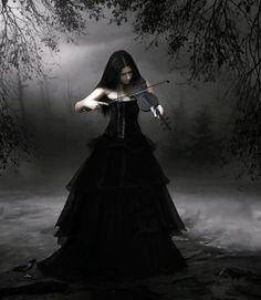 gótica violino