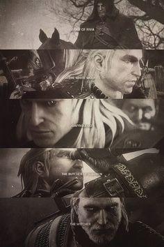 Geralt z Rivii/Biały Wilk/Gwynbleidd/Rzeźnik z Blaviken/Wiedźmin