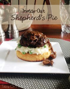 Inside-Out Shepherd's Pie | Taking On Magazines | Comfort food that's fit for company, this Inside-Out Shepherd's Pie has all the delicious flavor in a gorgeous presentation.