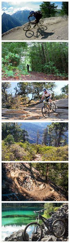 From easy, flowy routes to steep singletrack, these are the trails that belong on your bucket list