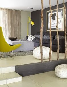 Twig room divider...cool!
