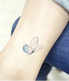 Blue Butterfly by Banul