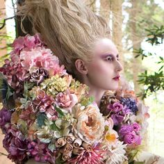 The Last Dance of the Flowers - Kirsty Mitchell Photography