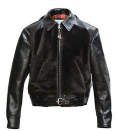 Grizzly Bike leather Jacket - Aero Leathers, UK