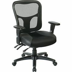 Office Star ProGrid® Mesh Manager's Office Chair, Black - $226.59