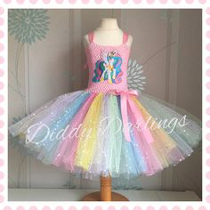 ec89c19a646d Sparkly Princess Celestia Tutu Dress. My Little by DiddyDarlings Tutu Šaty