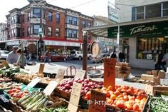 Italian Market in South Philly.  DiBruno Bros, Anthony's, Lorenzo's....LOVE.