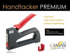 Handtacker - Premium Tacker, Wedges, Canvas Frame, Tips, Photo Illustration