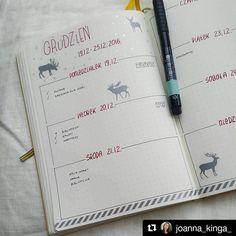"""Polubienia: 226, komentarze: 6 – Bullet Journal Polska (@bulletjournalpolska) na Instagramie: """"Uwielbiam połączenie czerwieni z szarością/srebrem, szczególnie w okresie przedświątecznym, a ty?…"""""""