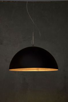Mezza Luna 1/2  resin and steel  in-es.collections