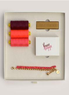 Venessa Arizaga - DIY Dazed & Confused charm bracelet