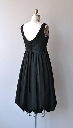 Pantomime dress vintage 1960s cocktail dress black by DearGolden