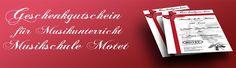 Gutscheine - Geigenunterricht Münster Geige lernen Münster