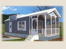 Kozy Cottage Park Model Home Series