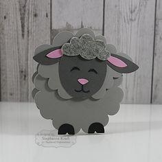 Sack It Lamb Card by Stephanie Kraft
