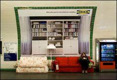 #IKEA en el metro...