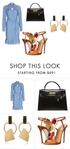 """""""Untitled #8"""" by dadulla on Polyvore featuring Diane Von Furstenberg, Hermès, Marni and Dsquared2"""