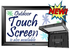 The TV Shield PRO Outdoor TV cabinet photos for TV on patio