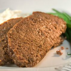 Quick and easy meatloaf with big flavor. Made with Lipton's onion soup mix.