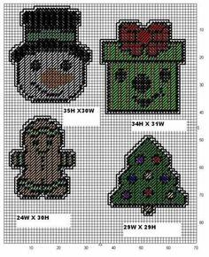 Christmas … Plastic Canvas Stitches, Plastic Canvas Coasters, Plastic Canvas Ornaments, Plastic Canvas Crafts, Plastic Canvas Patterns, Halloween Canvas, Halloween Masks, Plastic Canvas Christmas, Needlepoint Patterns