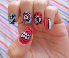 Uñas Zombie, #Nails #zombie #saramartinezjimenez