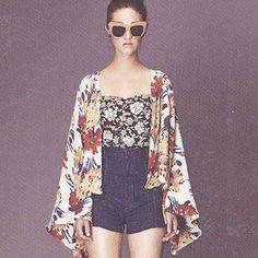 Gafas de sol XXL - Oversize sunglasses - Street style - Kimono - Denim Shorts - Boho chic - Floral print - Nude - Sunglasses - Sunnies - Shades - Gafas de sol