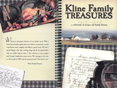 Kline Family Treasures 1917-2002 A Collection of Recipes and Family History 2002