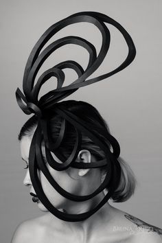 Beauty editorial with custom-made headpices - Bruna Rico Photography Fascinator, Headpiece, Brown Makeup, Beauty Editorial, Make Art, Hair Pieces, Portraits, Photoshoot, Hat