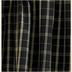 """Blackstone Shower Curtain - Coordinate your country powder or bath room with matching shower curtains and window curtains. Total Width 72"""" x 72""""L. 100% cotton. Dry Clean for best results to prevent shrinkage."""