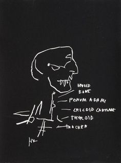 View Anatomy Series Thyroid by Jean-Michel Basquiat on artnet. Browse upcoming and past auction lots by Jean-Michel Basquiat. Graffiti Art, Jean Michel Basquiat Art, Radiant Child, Neo Expressionism, Whitney Museum, Thyroid, American Artists, Installation Art, Les Oeuvres