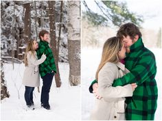 Snowy Engagement Session - Berkshire MA - Tricia McCormack Photography