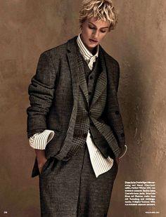 Vogue Alemanha April 2015 | Aymeline Valade by Giampaolo Sgura [Editorial]