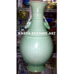 GUCI PUTIH NAGA HIJAU, Antik, Pajangan di Carousell Ceramic Jars, Vase, Ceramics, Home Decor, Ceramica, Pottery, Decoration Home, Room Decor, Ceramic Art