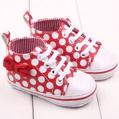 a7bd4a9f3 Ultra Soft Sole Baby Girls Red Black Sneaker Toddler Newborn Prewalker  Shoes LL9-in First Walkers from Mother   Kids on Aliexpress.com