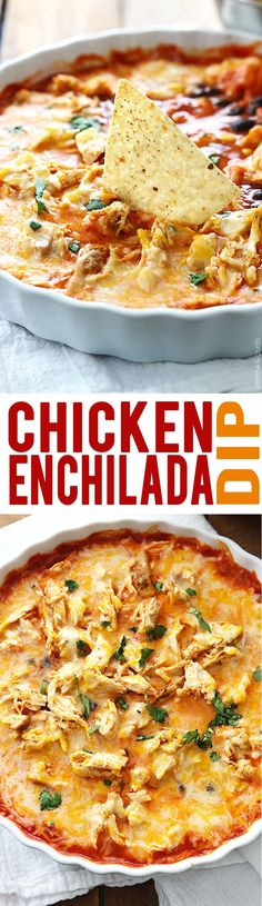 chicken enchilada dip chicken enchilada dip more baked chicken ...