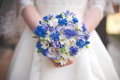 свадебные букеты с васильками - Пошук Google