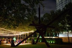 Real Wedding: Trinh and Jeff's Fabulous Nasher Celebration  Planned and designed by Weddings by StarDust Venue: Nasher Sculpture Garden Photo Credit: Allen Tsai Photography