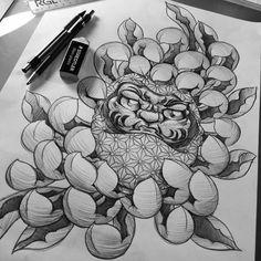 daruma doll coloring pages - photo#21