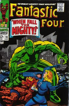 Fantastic Four 70 - Stan Lee and Jack Kirby