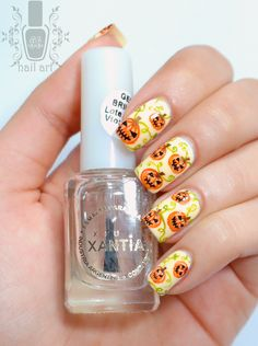 Halloween Nails: Evil Pumpkins Patch by Anto Butera